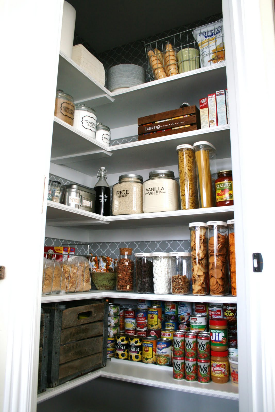 Populaire How to Organize and Spruce Up Your Pantry KQ25