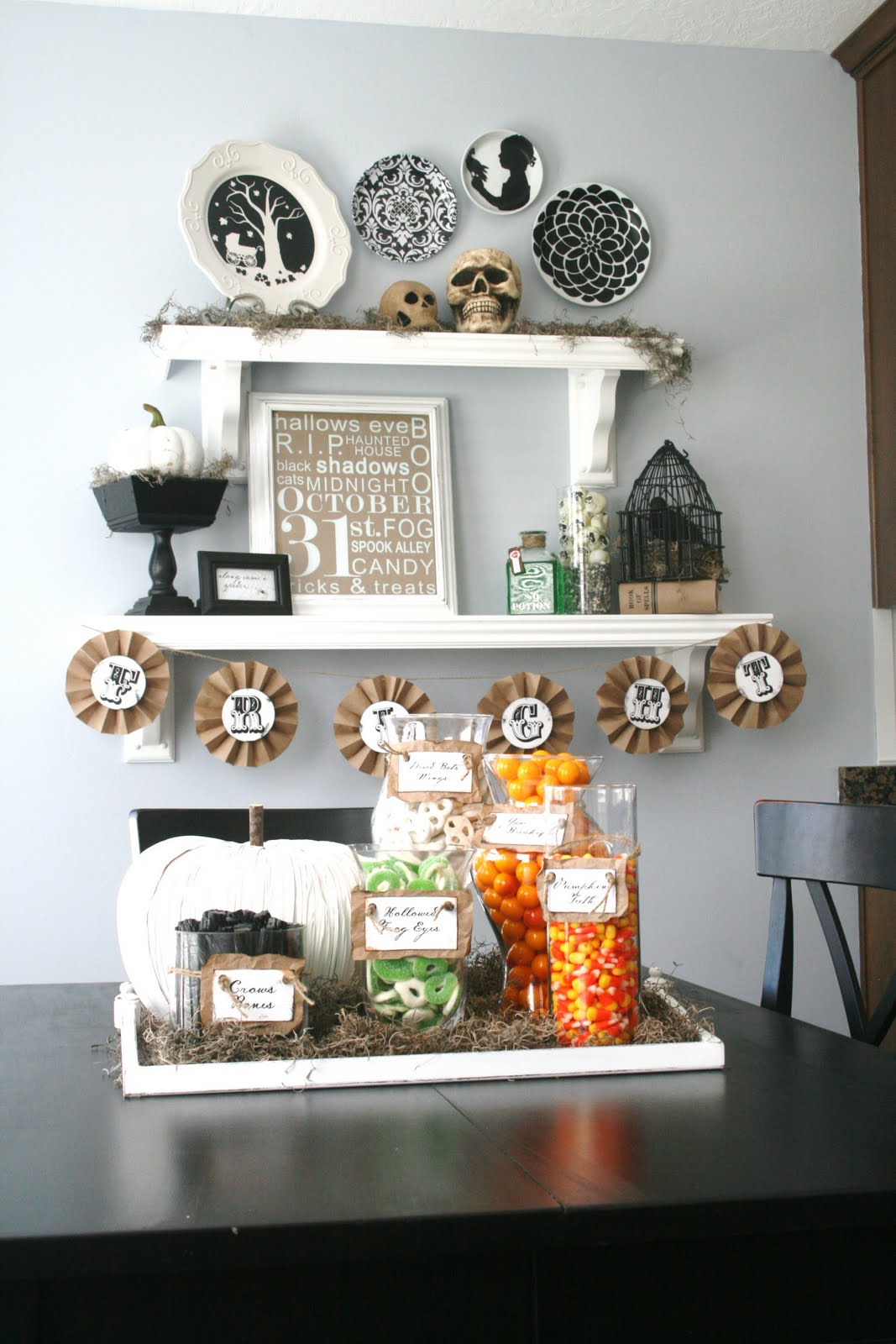 Halloween decorating ideas - Homemade halloween decorations ...