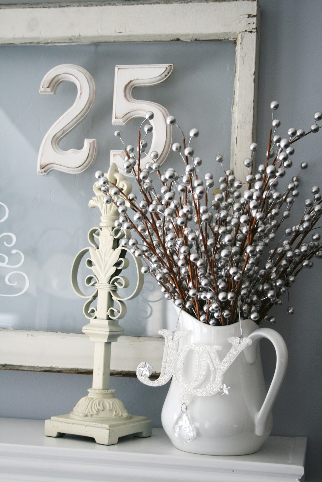 Blue, Green, White and Silver Christmas Decorating Ideas ~ 145052_Christmas Decoration Ideas Silver And White