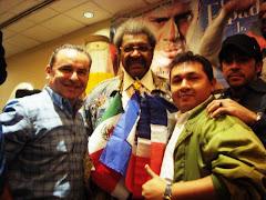 Con Don King 2010