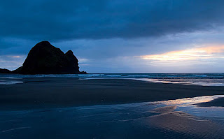 South Piha Beach New Zealand