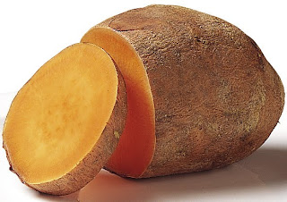Sweet Potato for improving night vision