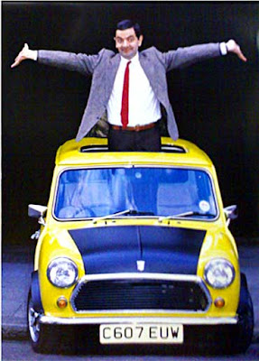Mr. Bean's Car: MK IV British Leyland Mini 1000
