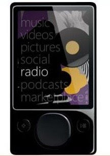 120GB Microsoft Zune MP3 player