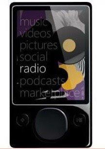 120GB Microsoft Zune MP3 player