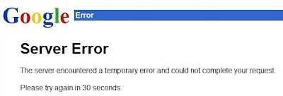 502 Google Server Error