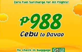 Cebu Pacific Go Lite Promo