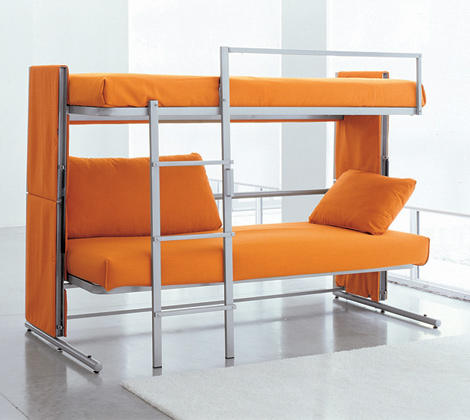 Bunk bed a space saver travel philippines entertainment - Space saving beds ...