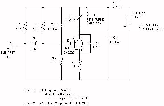 Understanding Fm Transmitter Circuit