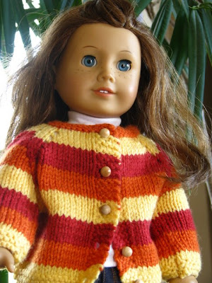 doll striped sweater