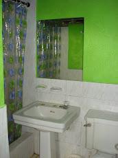 Hermosos baños.