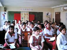 Estudiantes de San Andrés.