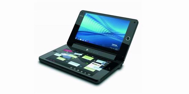 tablet layar ganda Toshiba Liberto