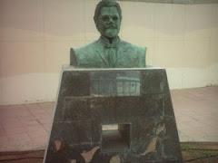 Busto en el parque San Gregorio (Telde).