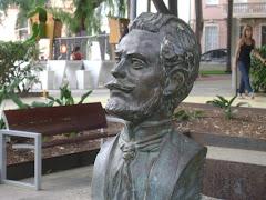 Busto en Santa Cruz de Tenerife