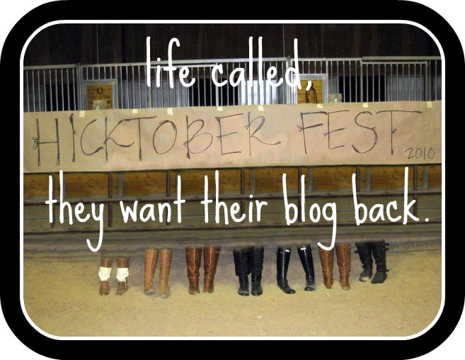 life called, they want their blog back.
