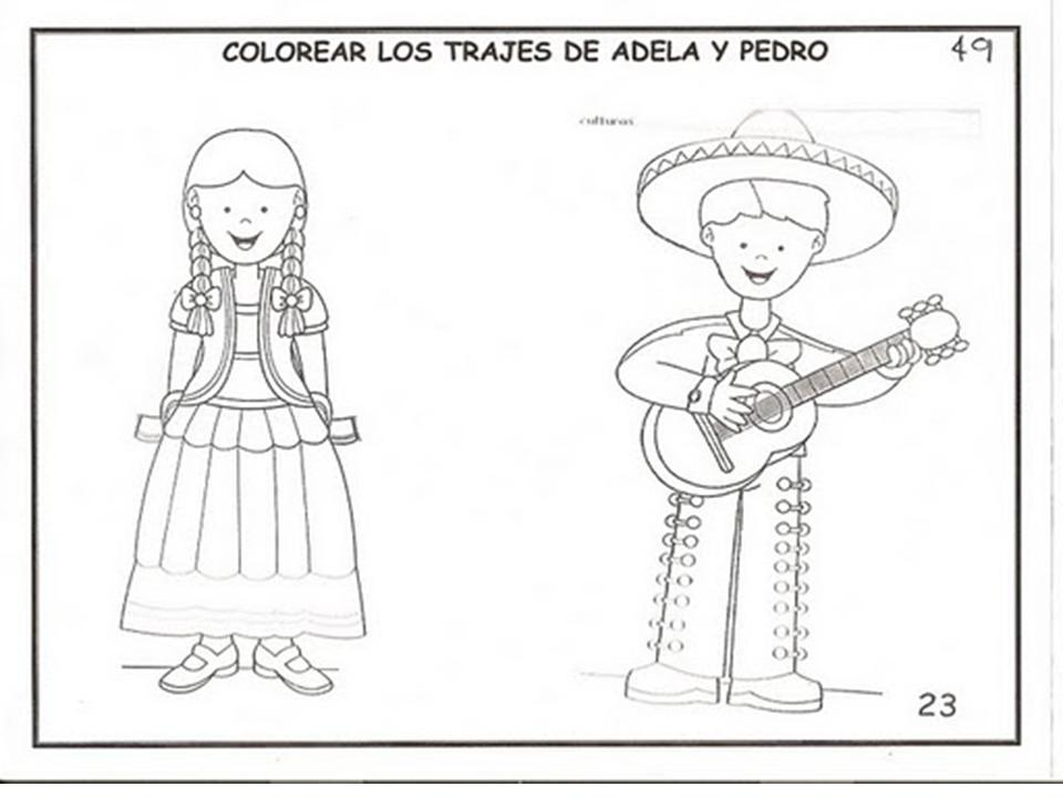Trajes Tipicos De Jalisco Imagenes Para Colorear Mejor Colorea Tus Dibujos Mapa De M 233 Xico