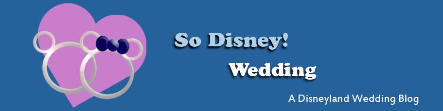 So Disney! Wedding