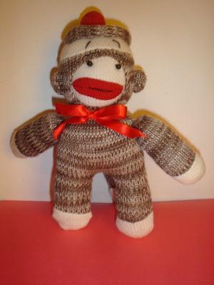 how to make a mini sock monkey