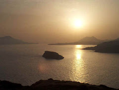 Ηλιοβασίλεμα από το Ναό του Ποσειδώνα στο Σούνιο