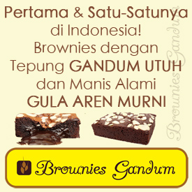 Brownies Gandum