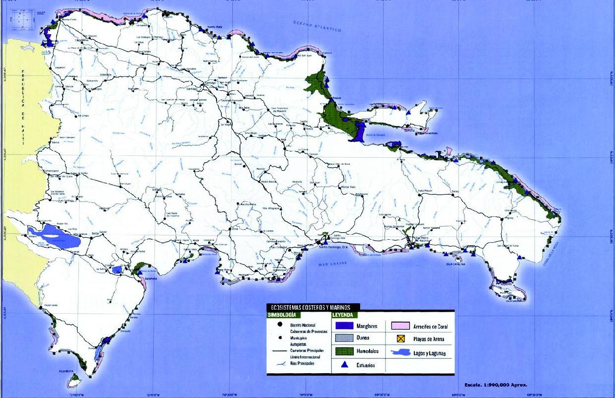 Gu a inmobiliaria mapa ecosistemas marinos for Guia inmobiliaria