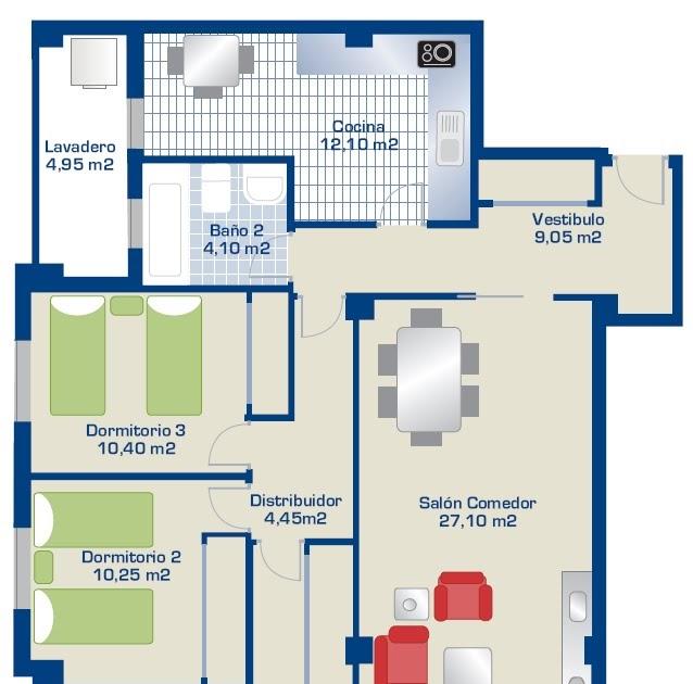 Viviendas En El Palmar De 3 Dormitorios