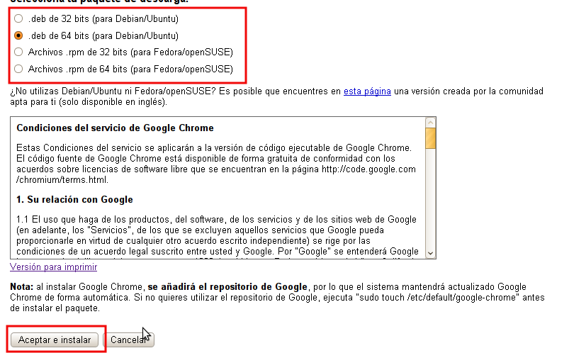 como instalar google chrome no pc