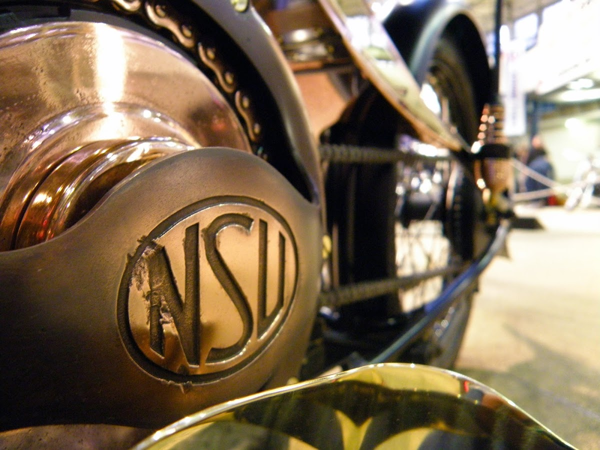 nsu 251osl engine closeup | art deco motorcycling