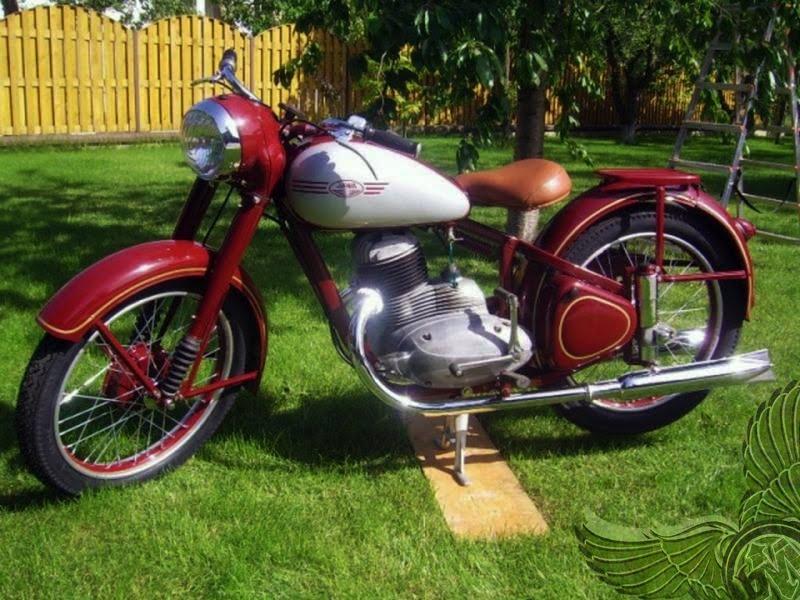 250cc jawa parak