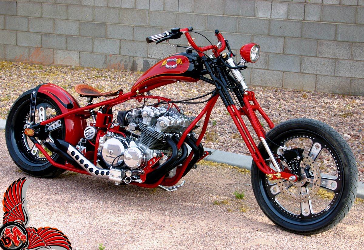 Terry Lee Honda >> old school cb750 chopper by envy cycle - bikerMetric