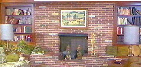 Bewitched Fireplace