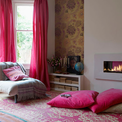 Site Blogspot  Cheap Living Room Rugs on Via Living Etc I Adore That Pink Rug In The Last Photo But I Know