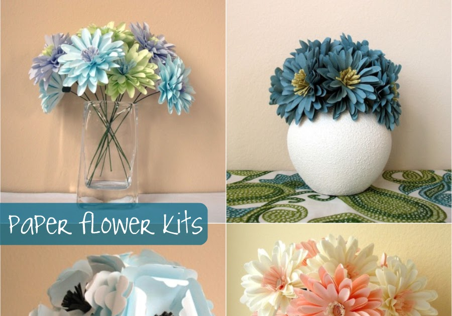Down and out chic diy paper flower bouquets mightylinksfo