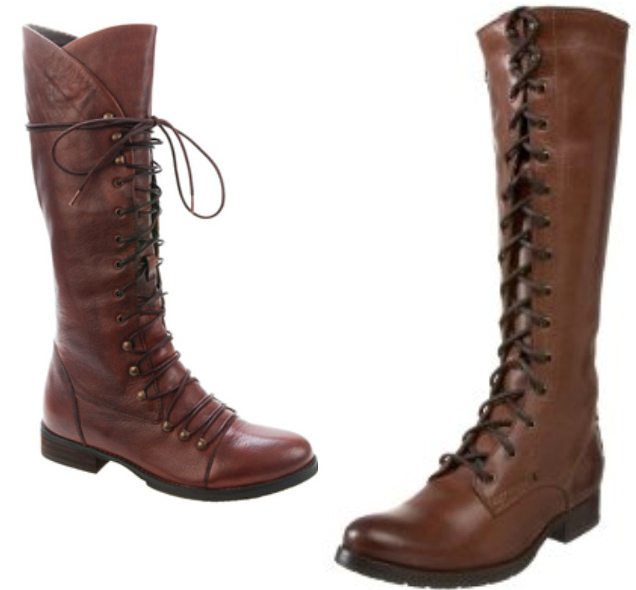 and out chic lace up boots for fall