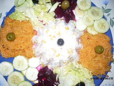 La cuisine algerienne et orientale salade marouane for Notre cuisine algerienne