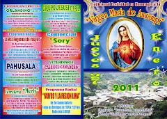 """TRADICIONAL FESTIVIDAD EN HOMENAJE A LA """"VIRGEN MARIA"""" EL 27 DE ENERO EN AUCAMPI - LOS ESPERAMOS..."""