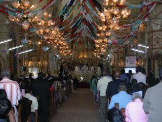 st alex church in calangute