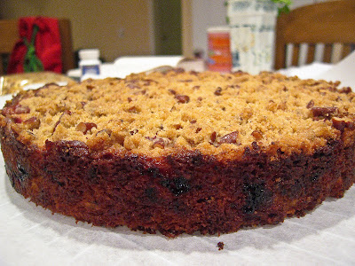 Cranberry Orange & Pecan Coffee Cake Recipe — Dishmaps