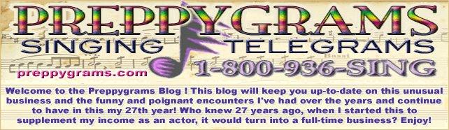 Preppygrams Singing Telegrams      800-936-SING