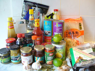 Asian food products