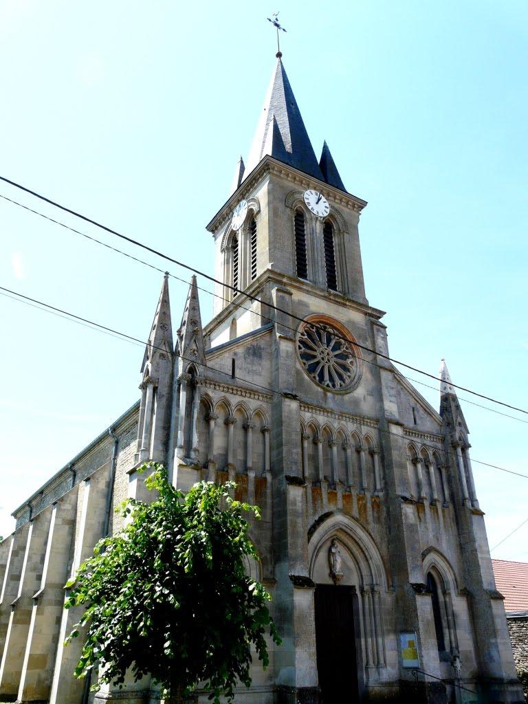 Eglise n o gothique saint sigismond vouthon haut meuse for Architecture neo gothique