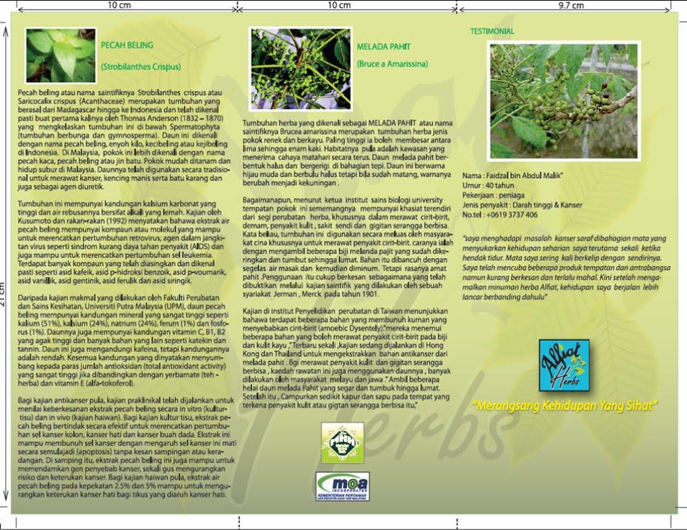 Brochure & Banting