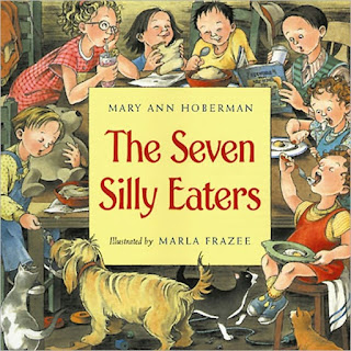 cover page of The Seven Silly Eaters