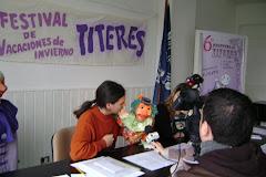 Presentación de la 6ª edición del Festival Latinoamericano de Titeres (tandil 2008 )