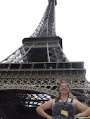 The Eiffel tower et moi
