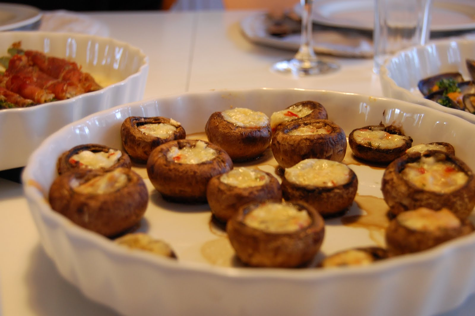 champignon i ovn