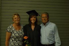 At my niece's graduation