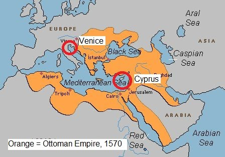 between venice and cyprus In planning the occupation of cyprus, the ottoman high command was more wary of the christian fleet than the fortifications in cyprus an alliance between spain, venice, and papacy had put a.