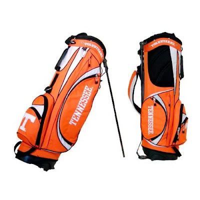 University of Tennessee Volunteers orange Vols golf bag.